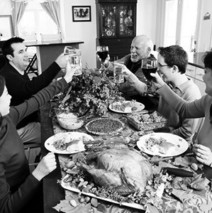 What is the origin of America's annual Thanksgiving Day?