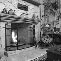 Evolution from Fire to Fireplace…!