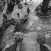 From Rome  to United States, history of backyard stone patios